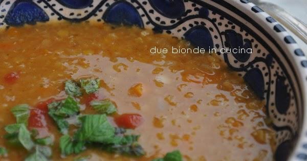 Due bionde in cucina zuppa di lenticchie rosse del sultano for Enormi isole di cucina