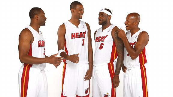 Miami Heat Ray Allen funny