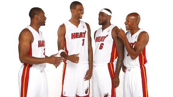 Miami Heat Ray Allen funny