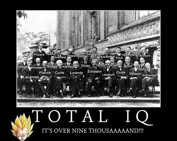 Total IQ - It's Over 9000