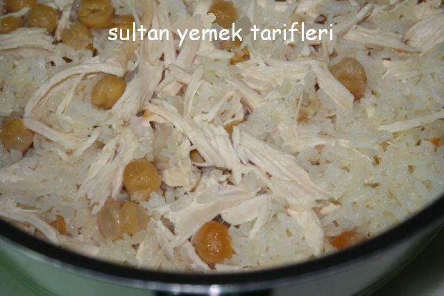 Nohutlu Tavuklu Pilav Nasıl Yapılır Sultan