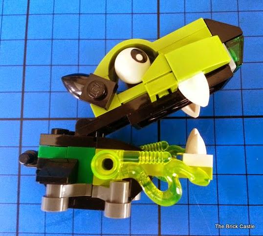 LEGO Mixels Series 3 - Glurt 41519 Glorp Corp doglike creature with goo
