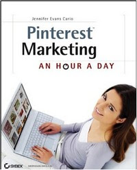 Title cover image - Pinterest Marketing: An Hour a Day