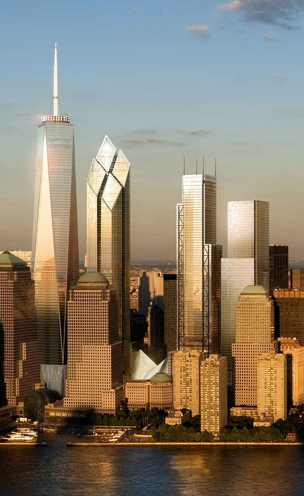 World Of Architecture 2 World Trade Center By Foster And