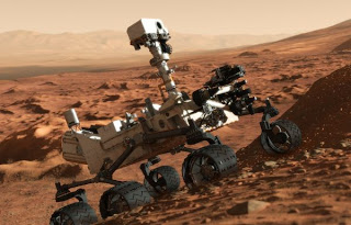 The Mars rover Curiosity