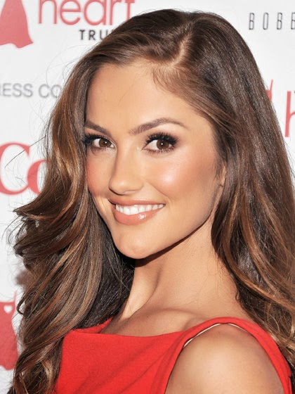 celebrity hair makeup styles