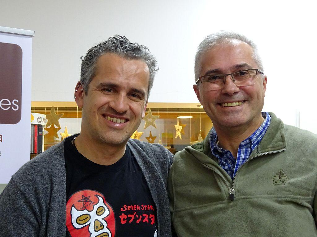 Com o escritor José Luís Peixoto