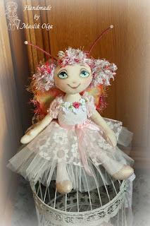 текстильная кукла, автор Маслик Ольга