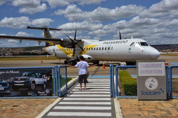 Avião a caminho de Vitória da Conquista sofre pane durante voo (Foto: Blog do Anderson)