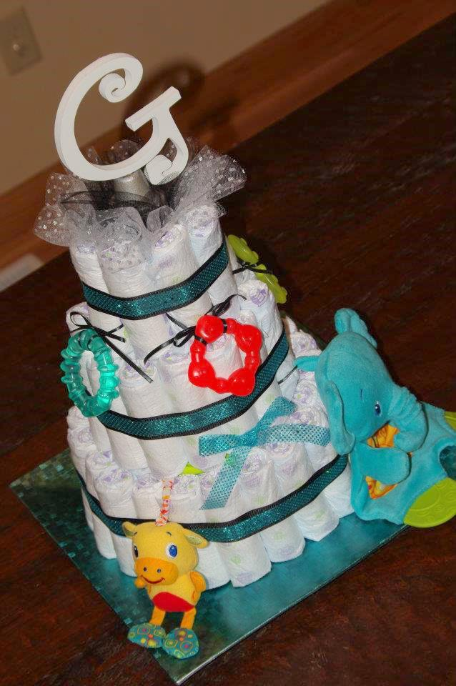 baby shower diaper cake celebrate every day with me