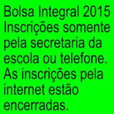 Bolsão 2015