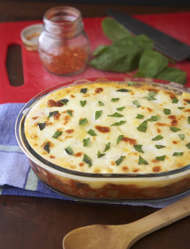 Italian Polenta Pie