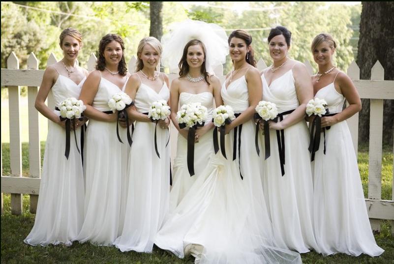 wedding trends white on white weddings