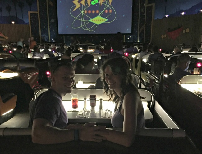 Disney World Recap Hollywood Studios -  Sci Fi Dine In Theater