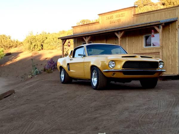 Custom 1968 Ford Mustang Fastback