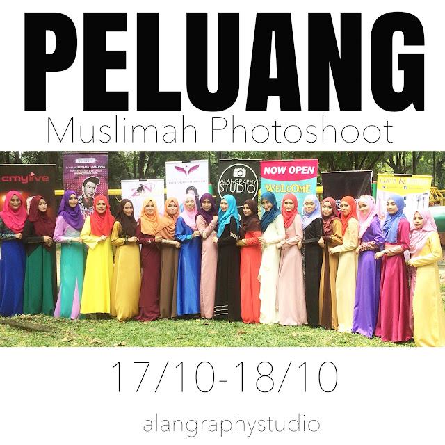 Muslimah model Photoshoot: Alangraphystudio