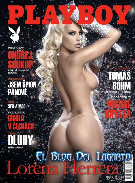 Revista Lorena Herrera Playboy Rumania Marzo 2012