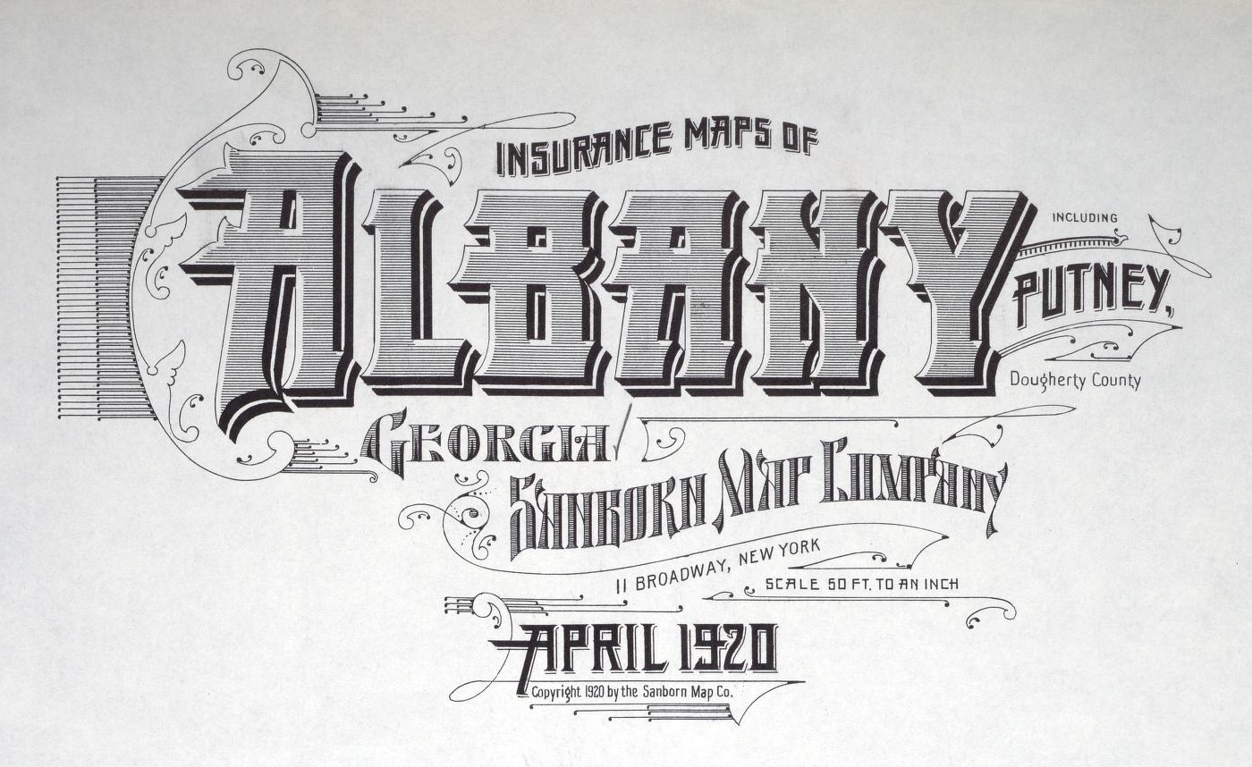 BibliOdyssey Sanborn Fire Insurance Map Typography
