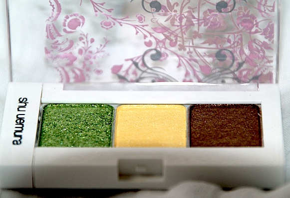 shu uemura palette collection printemps 2012 trio light