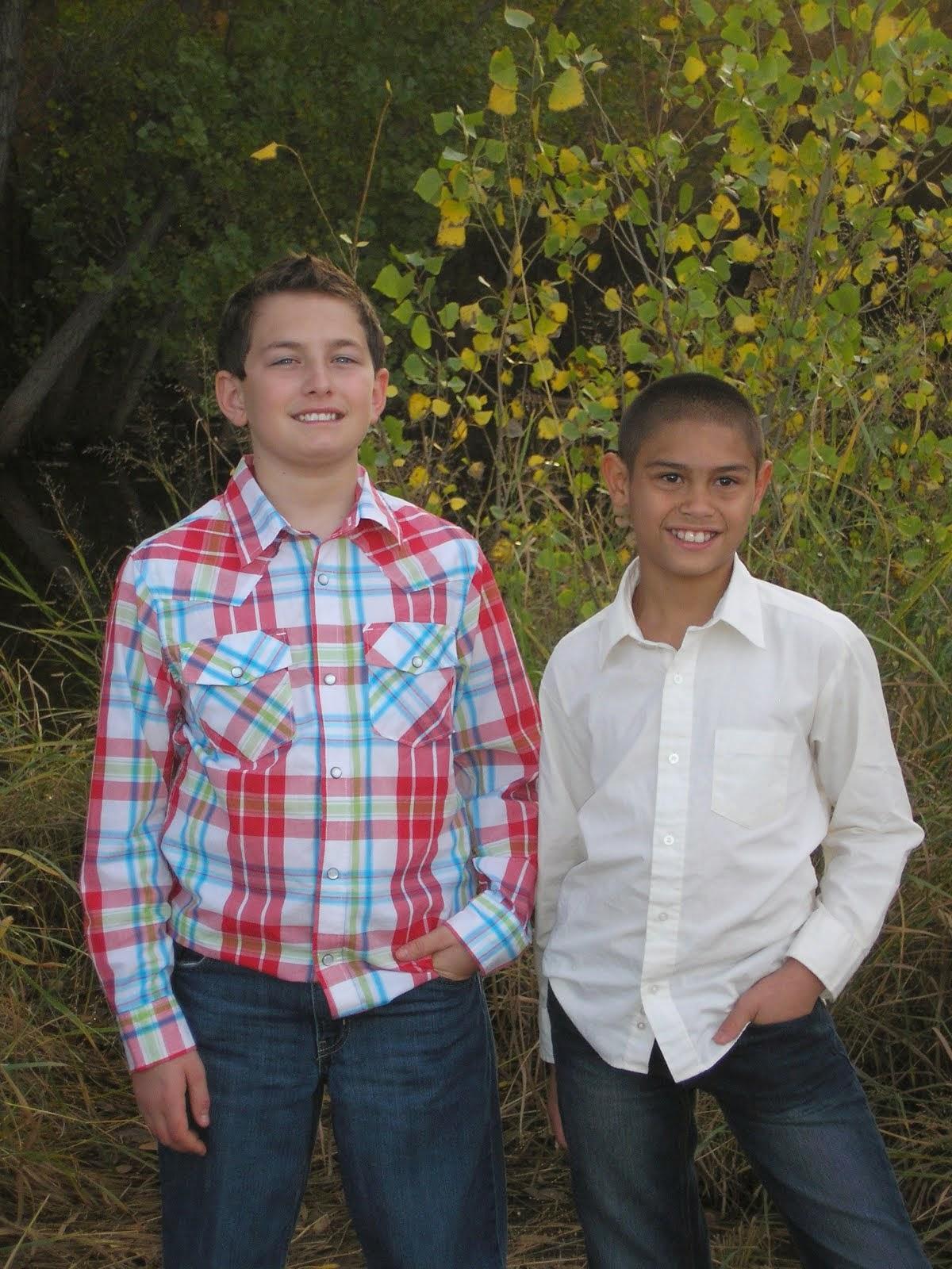 Trent and Kole