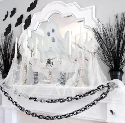 chimenea halloween