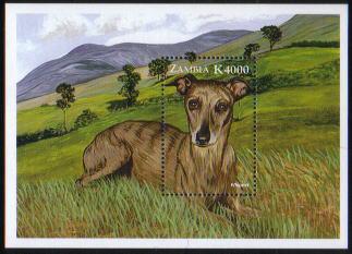 1999年ザンビア共和国 ウィペットの切手シート
