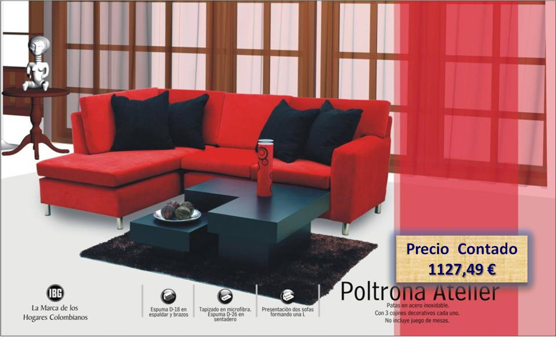 Fant stico microfibra sof reclinable juegos de muebles - Regalo muebles en madrid ...