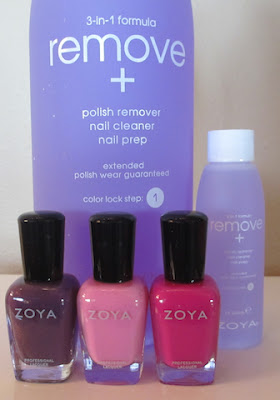 Zoya Nail Polish and Remover