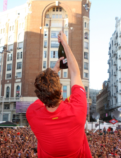 celebración selección española de baloncesto campeones de Europa