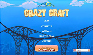 Games Flash Fisika: Crazy Craft