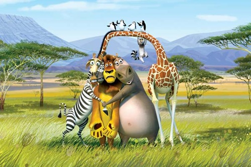 Madagascar cartoon wallpaper