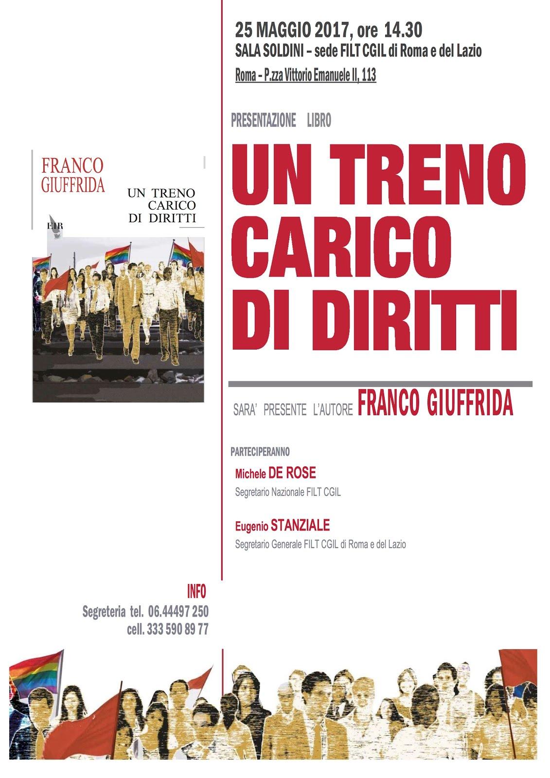 """PRESENTAZIONE DE """"UN TRENO CARICO DI DIRITTI"""""""