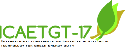 IEEE CONFERENCE-ICAETGT17