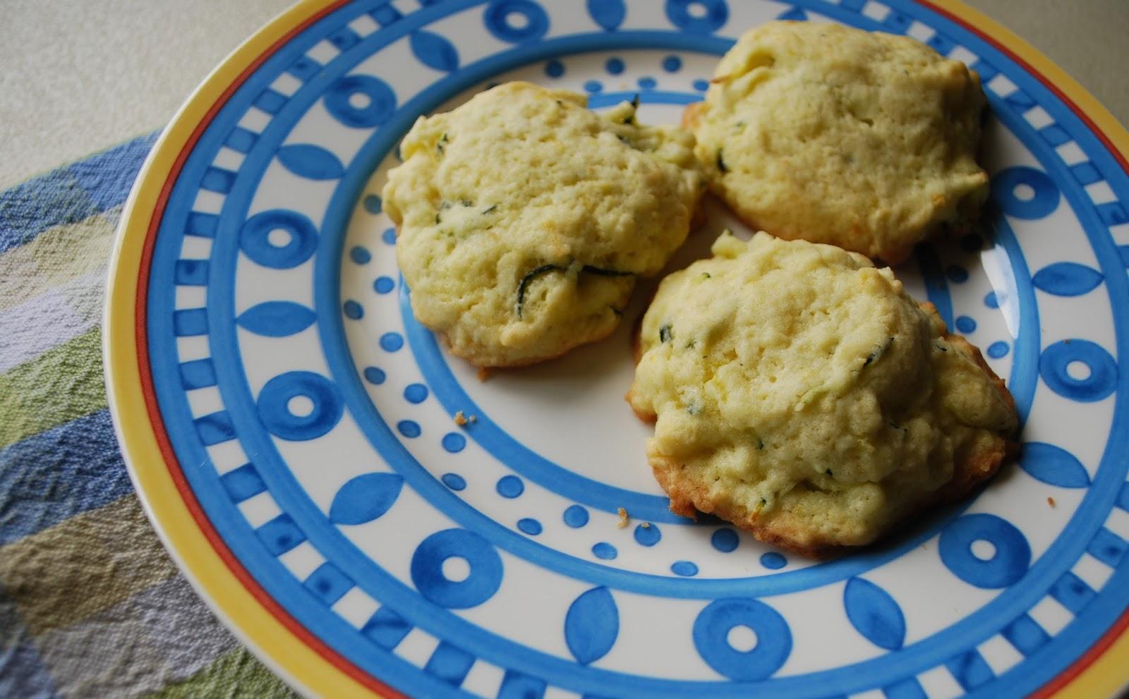Pie Crust Cookies: Zucchini Lemon Cookies