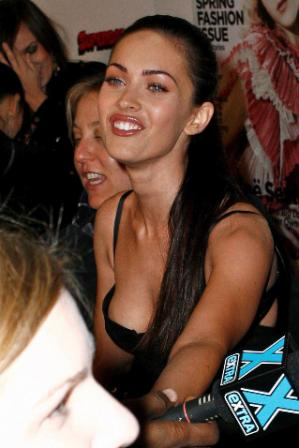 Megan Fox Nippleslip Posted by Celebrity Oops at Monday April 25 2011