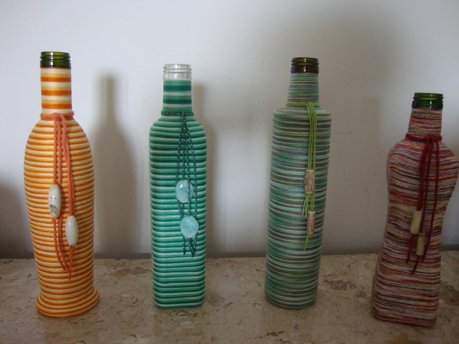 Miguinhas Artesanato Garrafas Recicladas