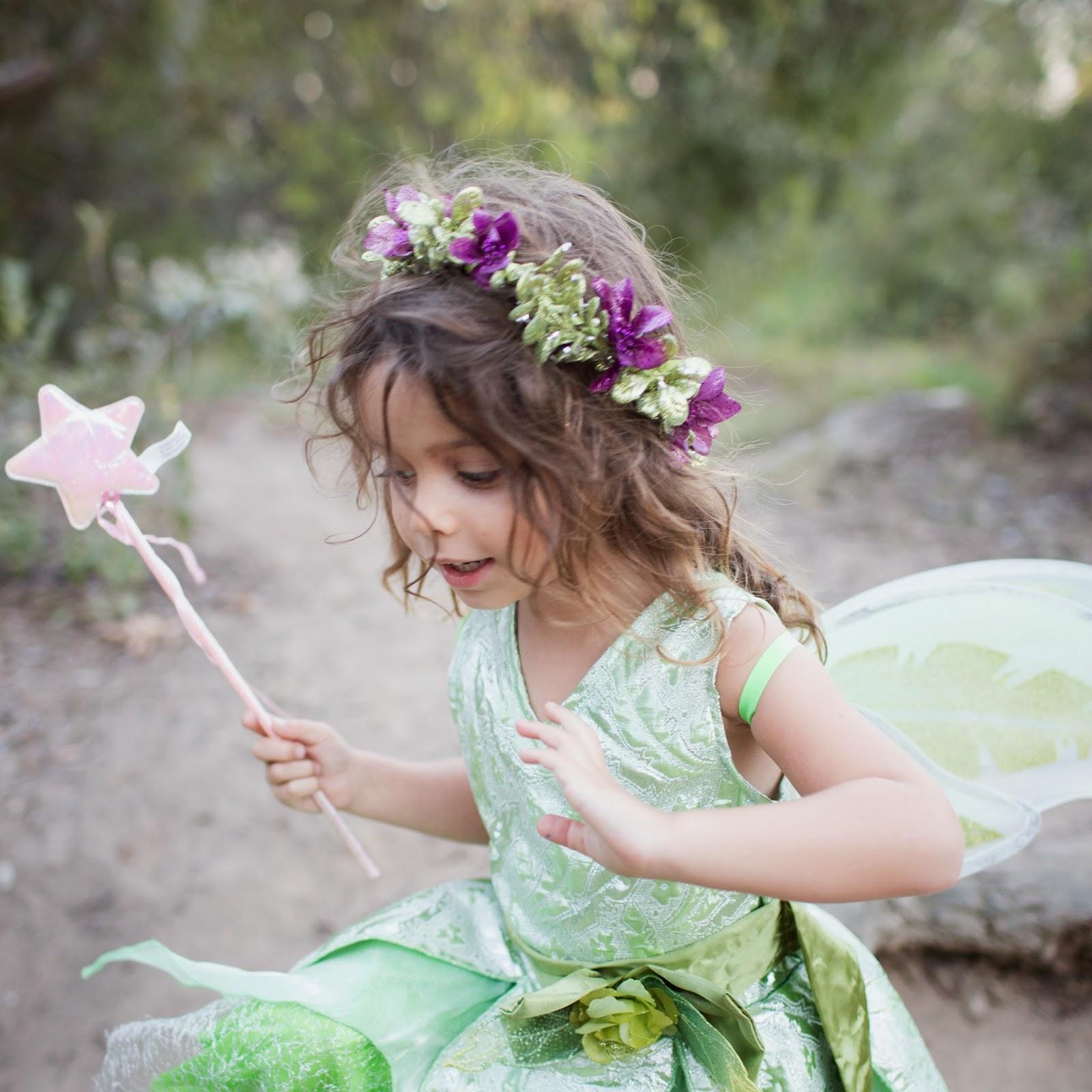 Zoe La Mona Diy Faux Flower Crown