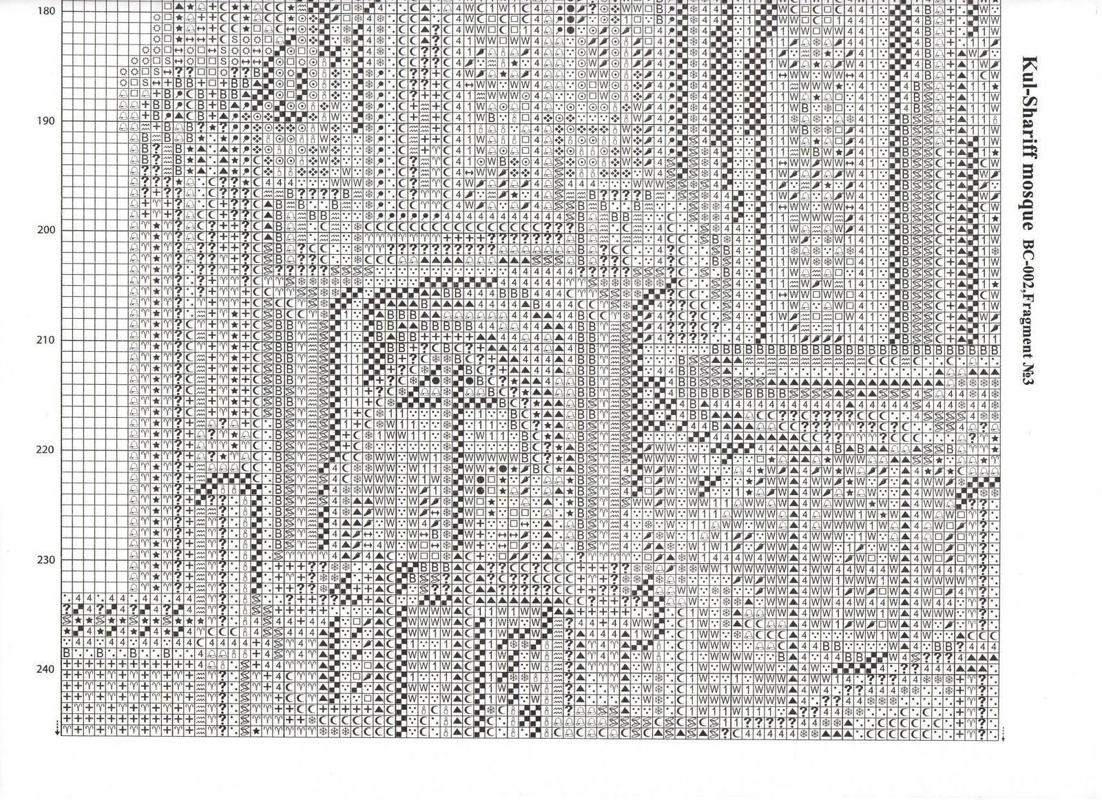 Вышивка крестом схема мечеть фото 904