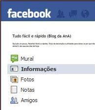 Agora também no facebook