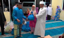 MASJID AL-IKHWAN mengadakan Ziarah Ramadhan ke Kg. Kiansom Kecil, Inanam, KK, Sabah. 27.06.2016