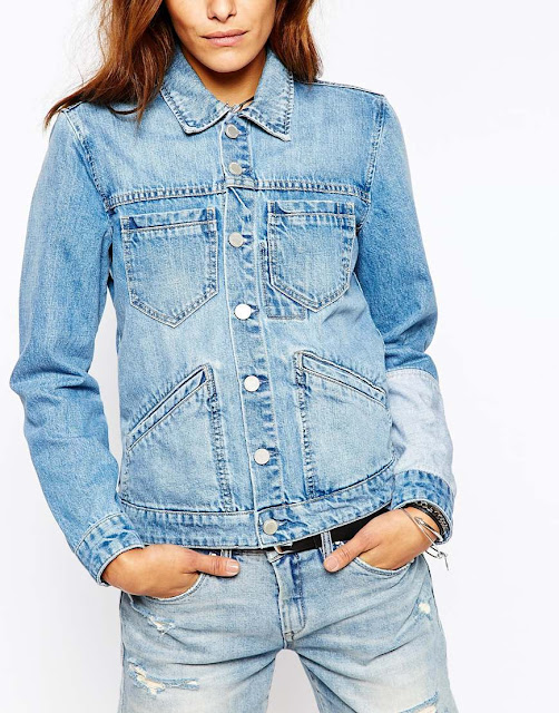 Blank NYC denim jacket, latest denim jacket, trendy denim jacket,