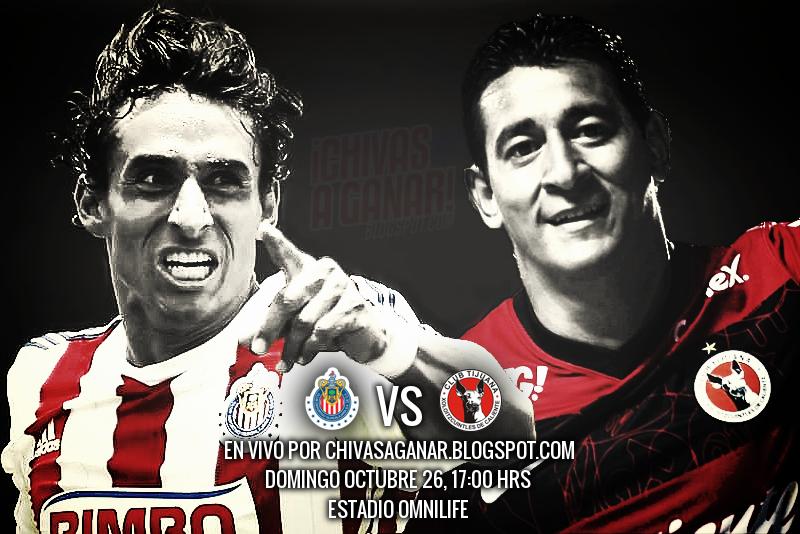 Club Deportivo Guadalajara vs Club Tijuana Xoloitzcuintles de Caliente - Jornada 14 Apertura 2014.