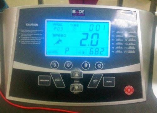 Walking Mouse on Treadmill