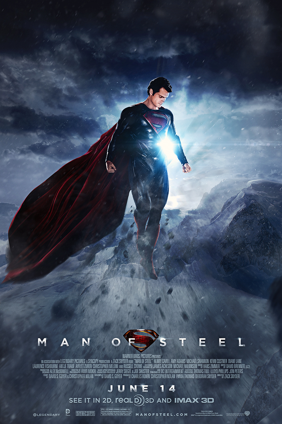 Fashion and Action: 'Man of Steel' 2013 Release Day! - Fan ...