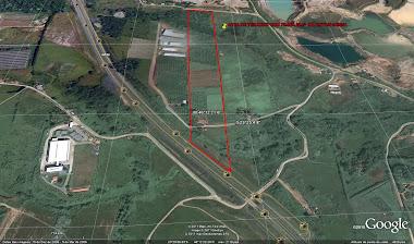 Area de uso ZUPI I - 106 mts de frente com 76.950,10 m² na Rodovia Ayrton Senna - Mogi das Cruzes.