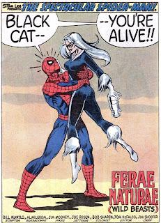 Spiderman Kisses Black Cat Tumblr