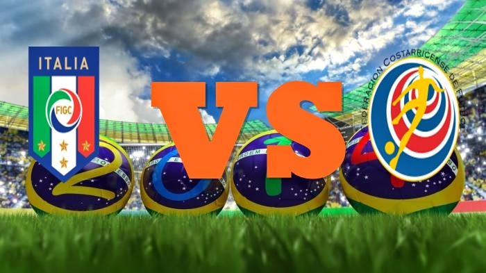 Prediksi Skor FIFA World Cup Terjitu Italia vs Kosta Rika jadwal 20 Juni 2014