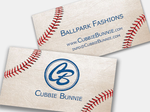 Cubbie Bunnie Logo Design Branding Business Card Print Illustration Alice Graphix AliceGraphix