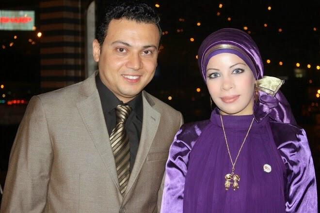 مع الفنان عمرو رمزى عام 2010