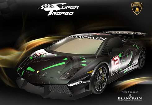 World Latest Cars Wallpapers: Lamborghini Blancpain Super Trofeo Car